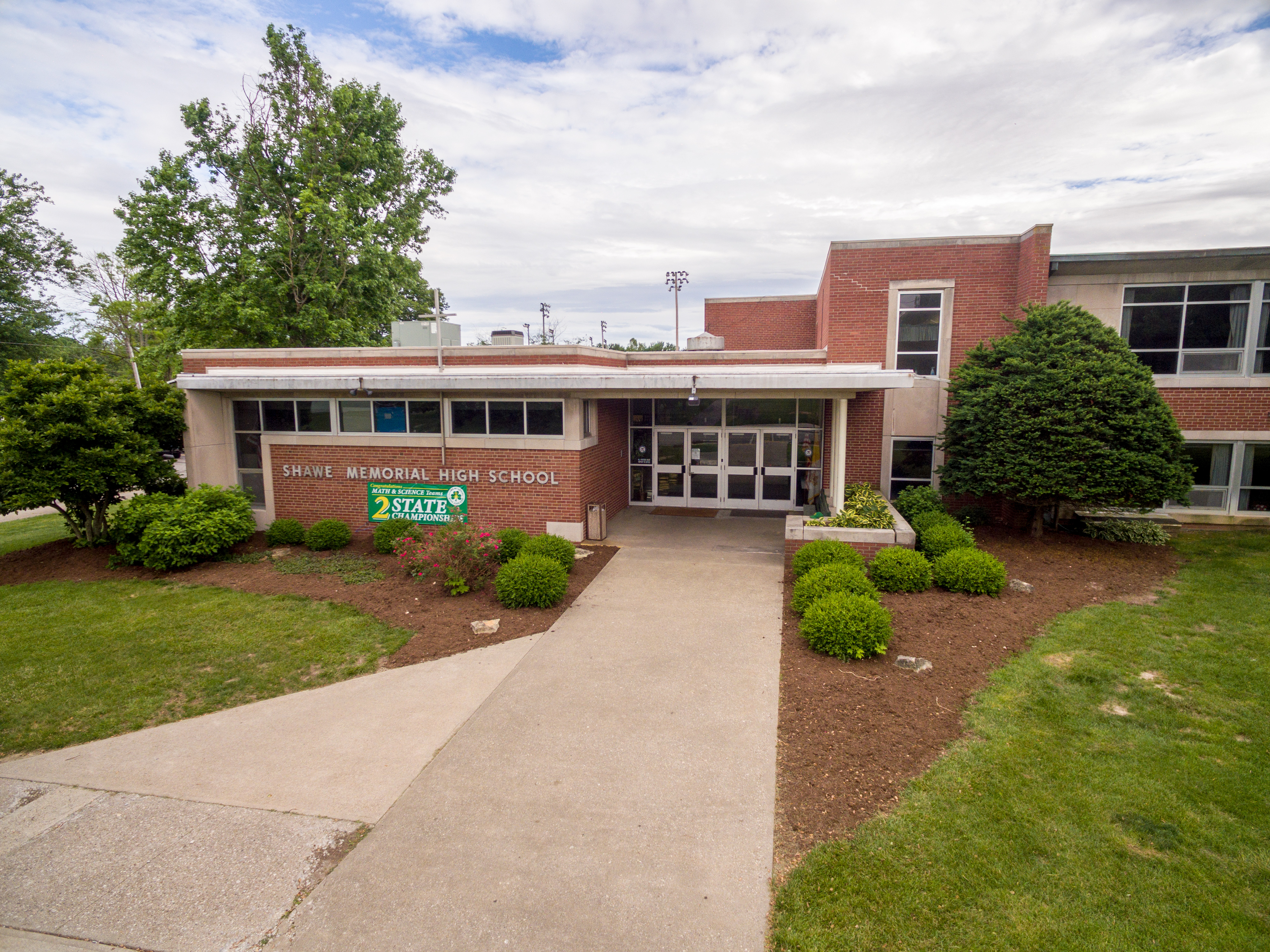 Shawe Memorial High School in Madison Indiana
